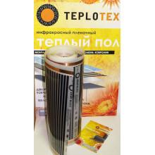 Пленочный инфракрасный теплый пол TEPLOTEX 220/1 1 м2