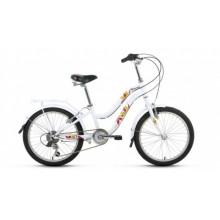 """Велосипед FORWARD EVIA 20"""" 10,5 белый"""