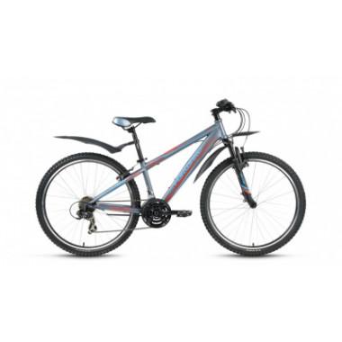 "Велосипед FORWARD FLASH 3.0 26"" 15,5 серый мат"