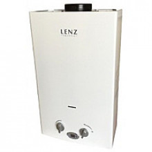Газовая колонка Lenz TECHNIC 10L белая